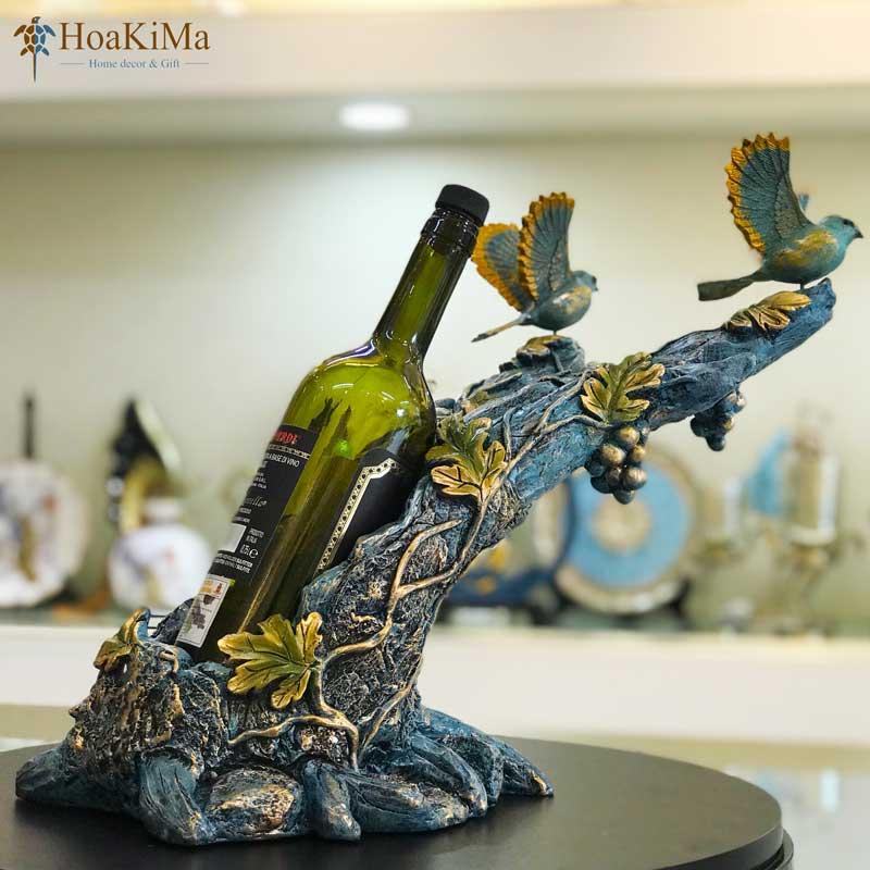Tượng trang trí kệ rượu