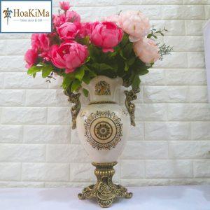 Bình hoa văn tròn