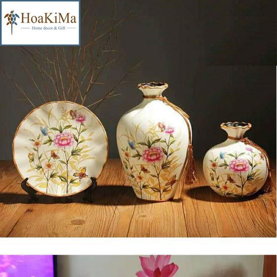 Bình hoa trang trí Hkm118