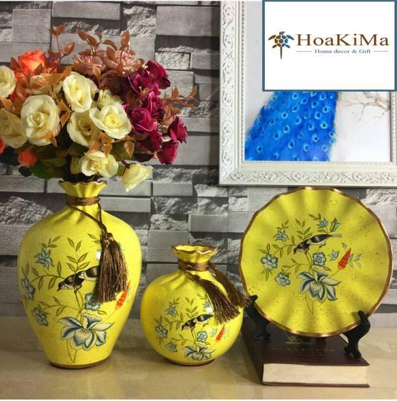 Bình hoa trang trí Hkm115