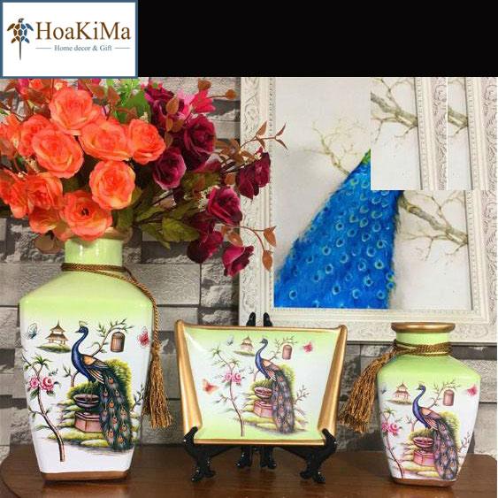 Bình hoa trang trí Hkm117