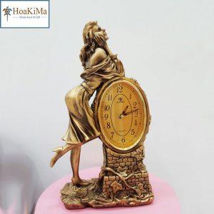 Đồng hồ để bàn trang trí Dh38