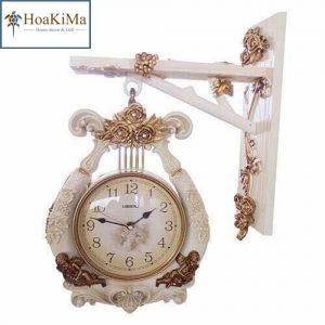Đồng hồ treo tường ngà voi