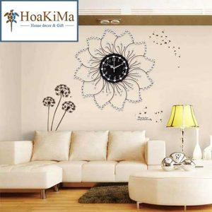 Đồng hồ treo tường hình hoa
