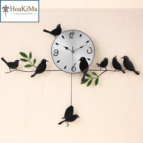 Đồng hồ 8 con chim