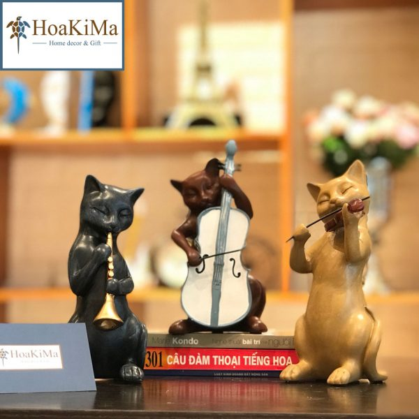 tượng âm nhạc, tượng âm nhạc 3 mèo nhạc công