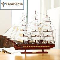 Thuyền buồm trang trí Hkm092