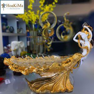 Đĩa hoa quả trang trí bàn Hkm220