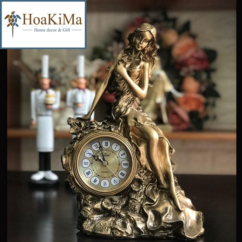 Đồng hồ để bàn trang trí giá rẻ