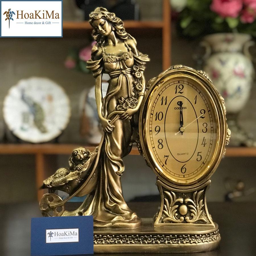 Đồng hồ để bàn trang trí giá rẻ mới