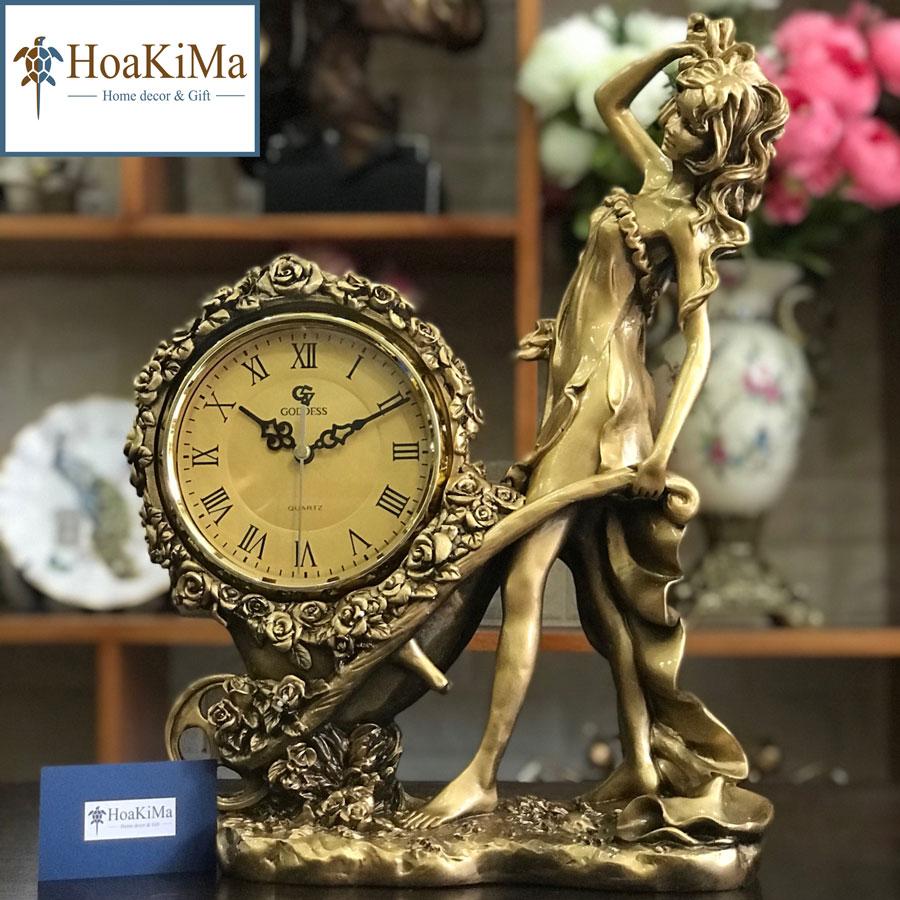 Đồng hồ để bàn trang trí phòng khách