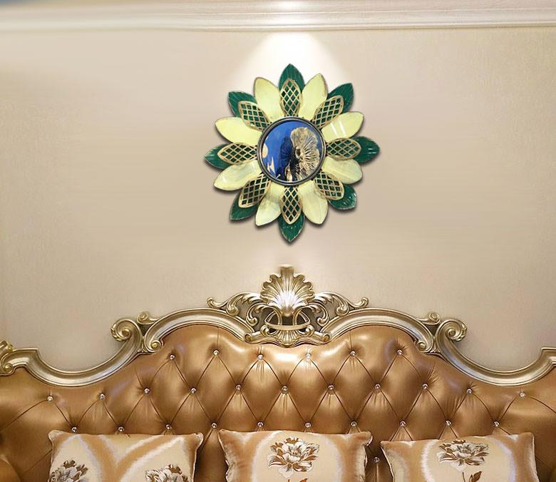 Gương trang trí nội thất hoa