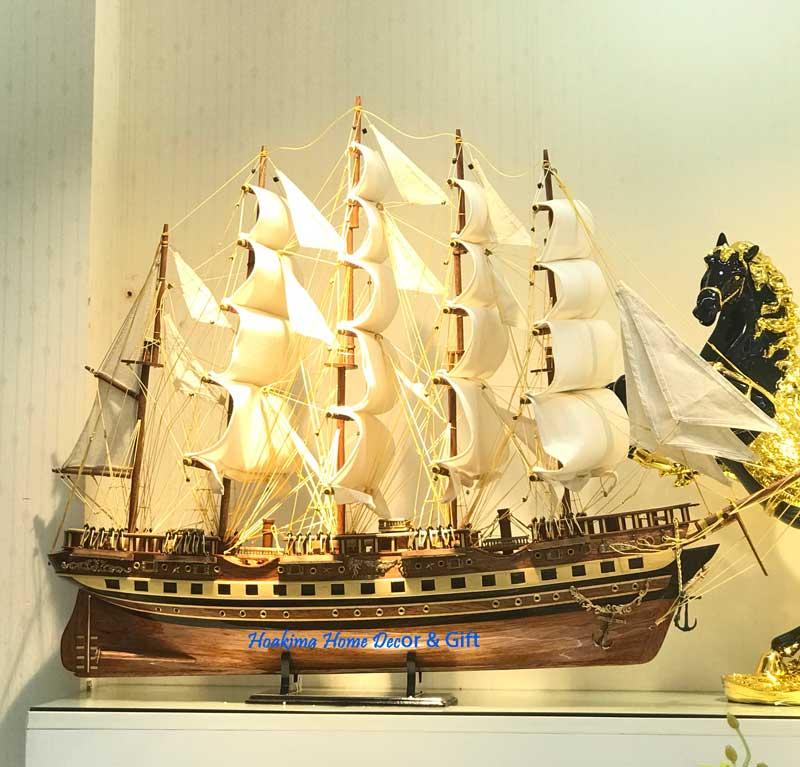 Thuyền buồm phong thủy tốt cho doanh nhân