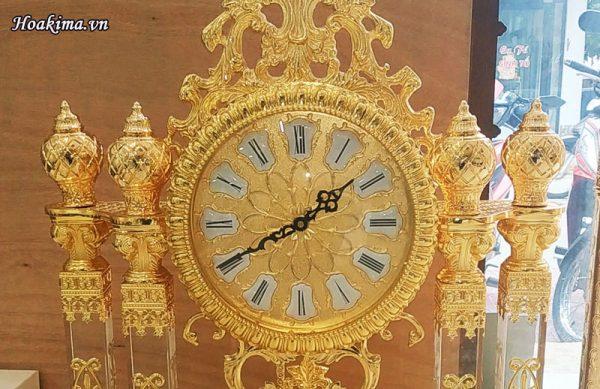 Đồng hồ luxury mạ vàng