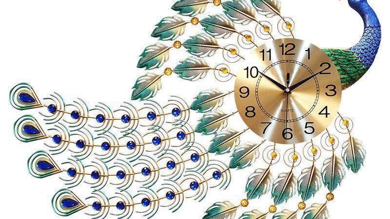 Đồng hồ trang trí công bay